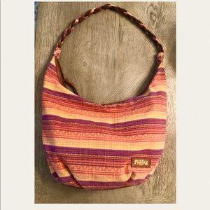 Hardly Worn boho style Mad Love shoulder bag.